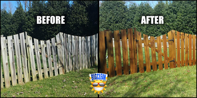 Wood Fence Cleaning Charlotte