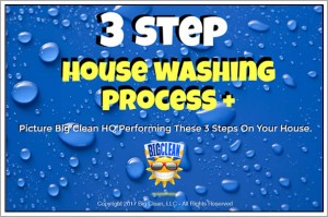House Washing Process by Big Clean HQ