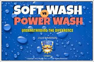 Soft Wash vs. Power Wash by Big Clean HQ