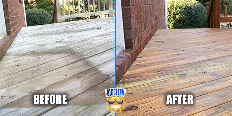 Deck Cleaning Service 28277