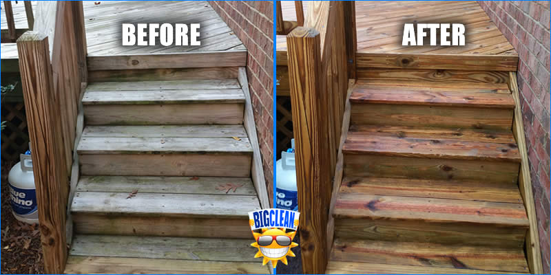 Deck Cleaning Service Charlotte NC