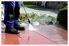 We're your local power washing pros!