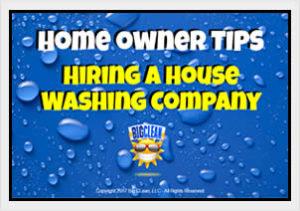 Hiring a House Washing Company