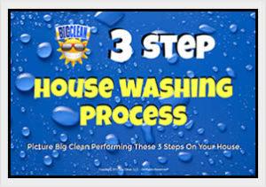 3 Step House Washing Process