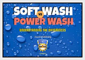 Soft Wash vs. Power Wash